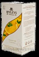 Чай зеленый Хейлис Гармония природы с лимоном пакетированный 125 х 1,5 гр.
