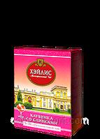 Чай фруктовый Хейлис Английский клубника со сливками, листовой 100 гр.