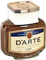 Кофе растворимый сублимированный  Milagro D'arte light 100г, стекло