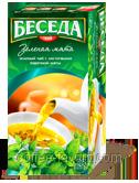 Чай зеленый БЕСЕДА зеленая мята, пакетированный 26 х 1,3 гр