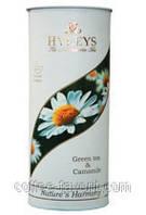 Чай зеленый Хейлис Гармония природы с ромашкой в тубе 100 гр.