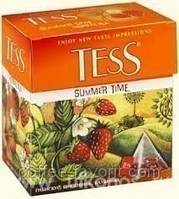 Чай травяной Тесс Саммер Тайм в пирамидках для чайника 20*2 гр (40 гр)