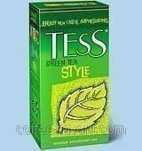 Чай зеленый Тесс Стайл пакетированный (25х2г)