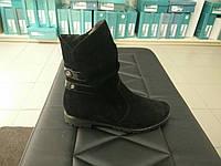 Замшевые женские ботинки 37,39,41р