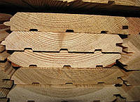 Имитация бруса 18х140х4000 Сорт АВ Сибирская Лиственница, фото 1