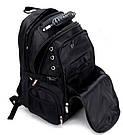Рюкзак черный Augur, фото 3
