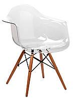 "Кресло ""Прайз"", прозрачный пластик"