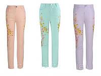 Котоновые брюки на девочек Glo-story 98-122 рр