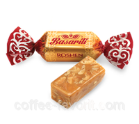 Конфеты «ROSHEN» Басарили с изюмом упаковка 5 кг