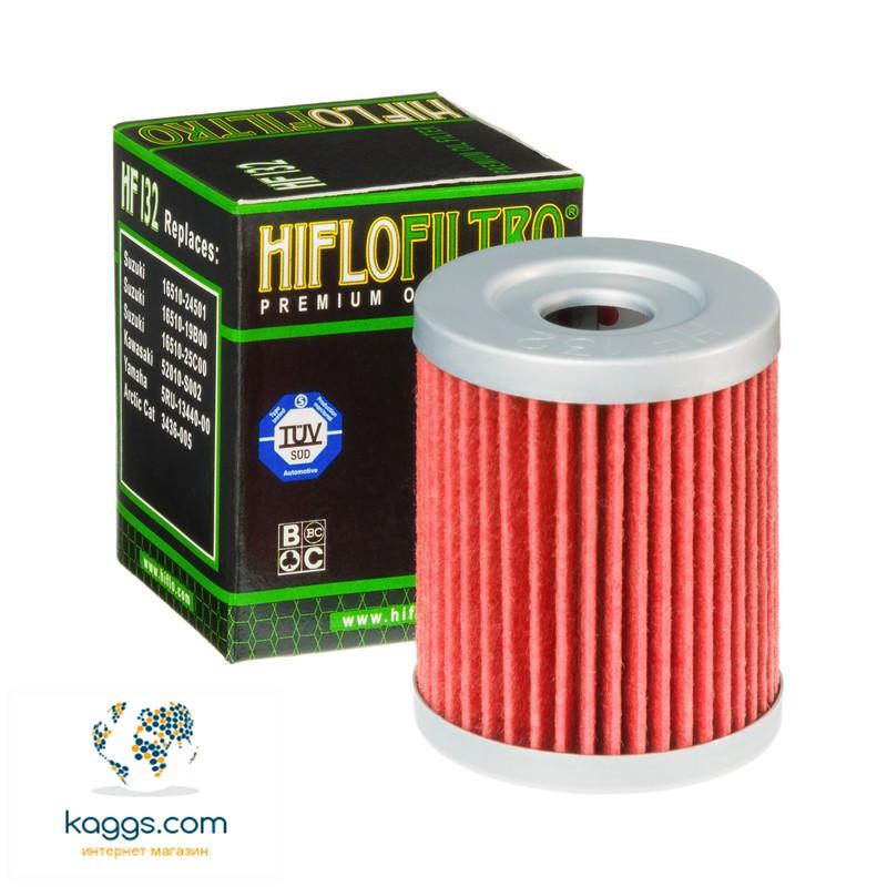 Масляный фильтр Hiflo HF132 для Kawasaki, Arctic Cat, Suzuki, Sym, Yamaha.