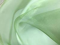 Зеленая   органза