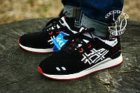 Кроссовки Asics gel lyte  кроссовки асикс кожа+текстиль, неопреновый носок ,Вьетнам р-ры 41-44 Топ качество