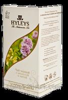 Чай черный Хейлис Гармония природы с мелисой и мятой пакетированный 125 х 1,5 гр.