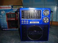 Приемник Merenda MR-Q1DSP с фонарем. Всеволновой радиоприемник с MP3 проигрывателем.