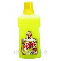 Средство Мистер Пропер моющее для пола  Лимон 750 мл.