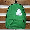 Стильный городской рюкзак с котиком, фото 2