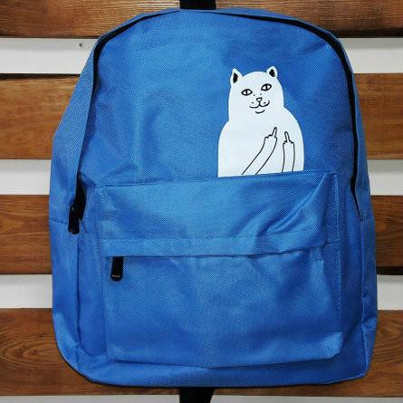 Стильный городской рюкзак с котиком