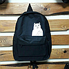 Стильный городской рюкзак с котиком, фото 9