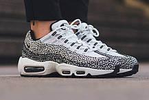 Мужские кроссовки Nike Air Max 95 Premium Safari Pack 807443-100, Найк Аир Макс 95, фото 2