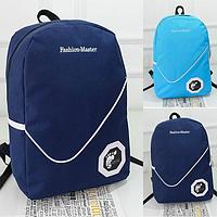 Городской однотонный рюкзак, фото 1
