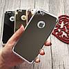 Силиконовый зеркальный чехол с вырезом под яблоко для iPhone 8, фото 3