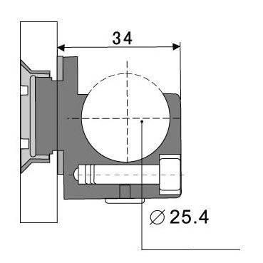 HDL 825B с зенковкой, фото 2