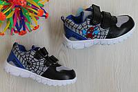 Кроссовки на мальчика Супер герой детская спортивная обувь тм Tom.m р. 21,22,23,24