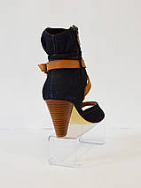 Джинсовые женские босоножки Brocoli, фото 3