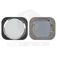 Пластик кнопки меню Apple iPhone 6, iPhone 6 Plus, iPhone 6S, iPhone 6S Plus White (high copy)