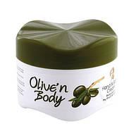 Крем для тела рук и тела с маслом оливки Olive`n Body