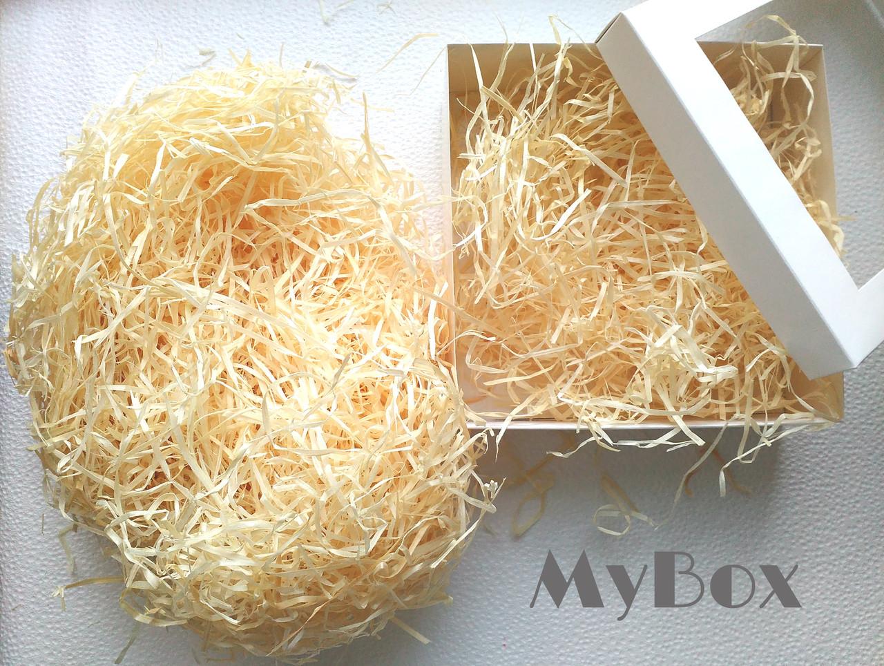 Наполнитель деревянная стружка 100гр - MyBox в Киеве