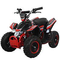 Детский железный квадроцикл Profi HB-EATV 800K-3, 800w,30км.ч., красный