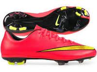 Профессиональные детские бутсы Nike Mercurial Vapor X FG Размеры 33.5 36
