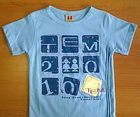 Брендовая футболка для мальчика TEM