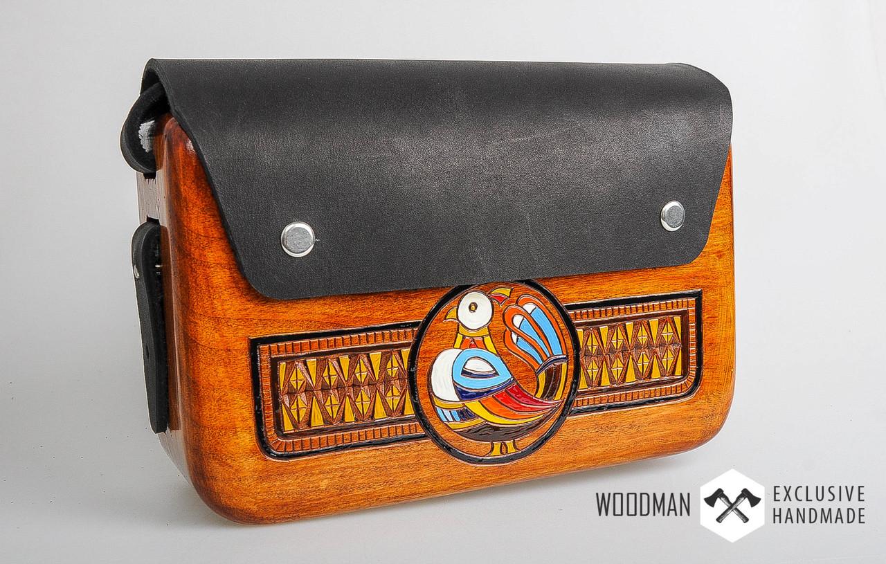 b93e1bdd0d4a Сумка ручной работы, деревянная сумка, сумка ручной работы из кожи и дерева
