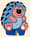 Детская вешалка с одним крючком «Ежик», Funny Animals, фото 2