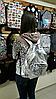 Блестящий грородской рюкзак, фото 3