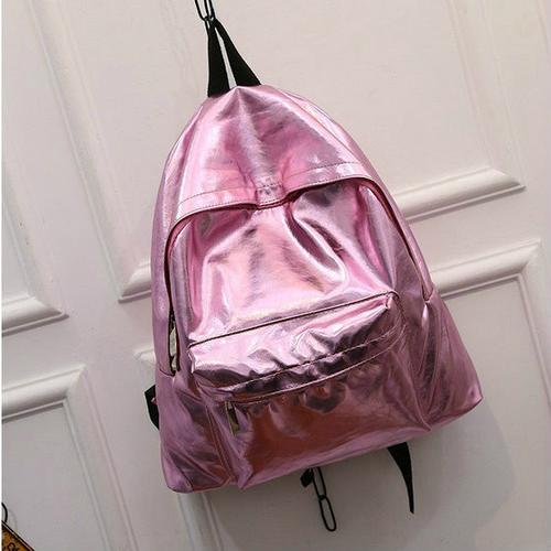 Блестящий грородской рюкзак