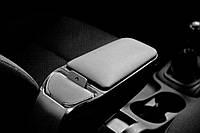 Подлокотник Смарт Фортво / Smart ForTwo 450 1998-2006 ArmSter 2 Black (с метал.креплением за сиденье водителя