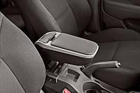 Подлокотник Смарт Фортво / Smart ForTwo 450 1998-2006 ArmSter 2 Grey Sport (с метал.креплением за сиденье водителя