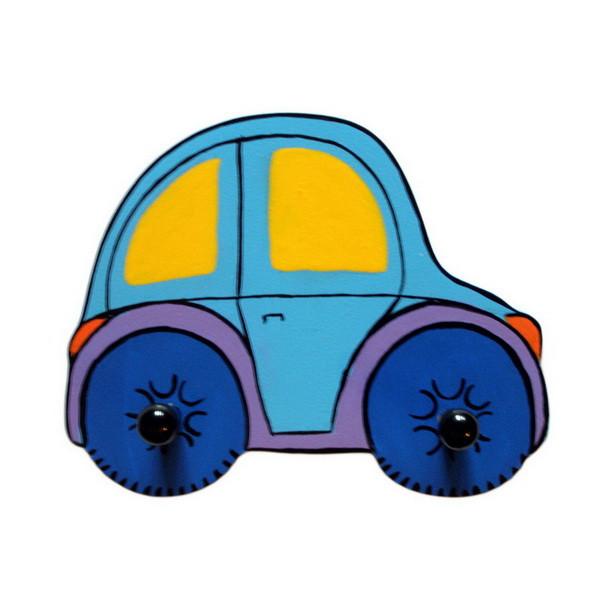Детская вешалка «Машинка», Funny Animals