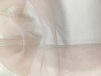 Розовая тюль микро фатин