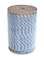 Веревка якорная бело-синяя 6мм 220м