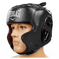 Шлем боксерский в мексиканском стиле Elast BO-5341-BK