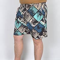 Мужские пляжные шорты - абстракция, код: 41-372