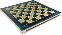 "Шахматы Manopoulos ""Лучники"" 28х28 см (синие) S15BLU"
