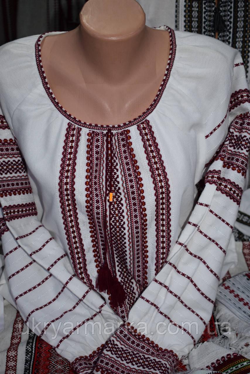 "Жіноча ткана сорочка ""Стежина"""