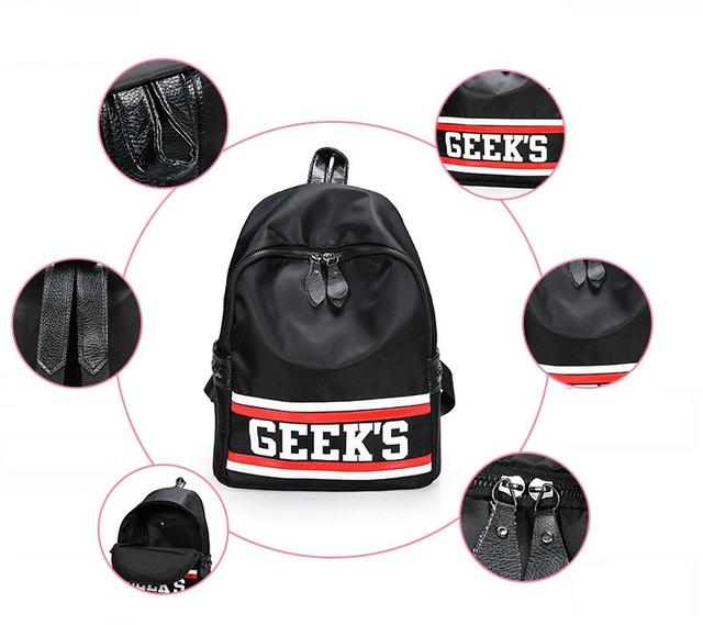 Рюкзак из нейлона Geek`s