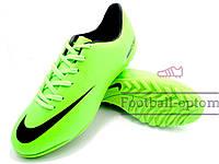 Сороконожки Nike Mercurial\Найк Меркуриал, салатовые классик, к11439