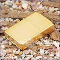 Зажигалка Zippo 207G CLASSIC gold dust, фото 3